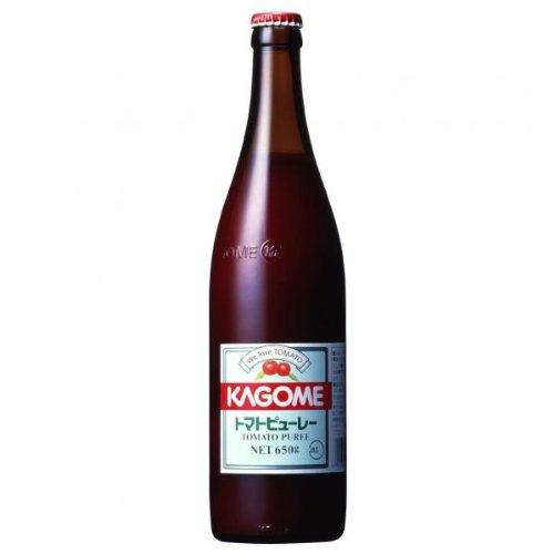 【業務用】 カゴメ トマトピューレ 650g 瓶