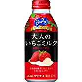 バヤリース パーラーズレシピ 大人のいちごミルク ボトル缶 400g×24本
