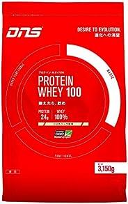 DNS プロテイン ホエイ100 リッチバニラ風味 3150g(約90回分) 大容量 たんぱく質 筋トレ