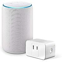 Echo (エコー) 第3世代 - スマートスピーカー with Alexa、サンドストーン + Meross WiFi スマートプラグ MSS110JP