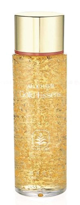 掃く署名すずめアロチャーム 純金箔入り ゴールドエッセンス 120ml