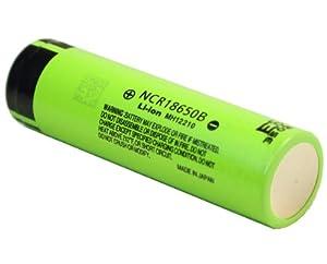 Panasonic[パナソニック] NCR18650B  1個 Li-ion充電池  3400mAh リチウムイオン充電池