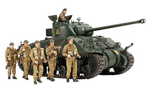 タミヤ 1/35 スケール限定シリーズ イギリス陸軍 戦車 シャーマン VC ファイアフライ 人形6体付 プラモデル 25174
