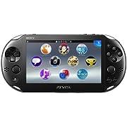 PlayStation Vita Wi-Fiモデル ブラック [PCH-2000ZA11] (PS Vita)