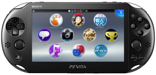 PlayStation Vita Wi-Fiモデル ブラック (PCH-2000ZA11)...