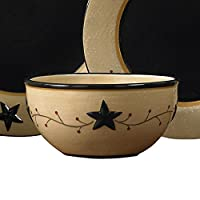 Star Vine Cereal Bowl Set by Park Designs