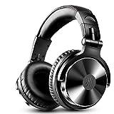 『密閉型モニターヘッドホン オーバーイヤーヘッドフォン 折り畳み DJステレオヘッドホン スタジオレコーディング/楽器練習/ミキシング/TV視聴/映画鑑賞/ゲームなどに対応 (pro002-1)』画像