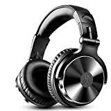 密閉型モニターヘッドホン オーバーイヤーヘッドフォン 折り畳み DJステレオヘッドホン スタジオレコーディング/楽器練習/ミキシング/TV視聴/映画鑑賞/ゲームなどに対応 (pro002-1)