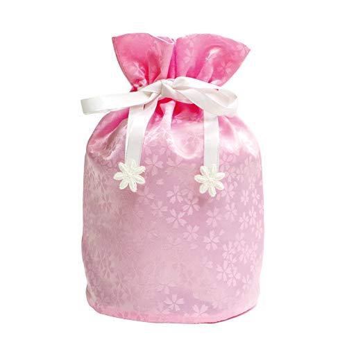 ペット メモリアル 骨袋 花ころも 4寸骨壷用 ピンク