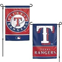 WinCraft MLB テキサス・レンジャーズ フラッグ 12x18 ガーデンスタイル 両面フラッグ チームカラー フリーサイズ