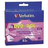 ver95311–Verbatim dual-layer DVDR Discs