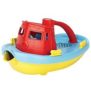 Green Toys (グリーントイズ) タグボート レッド