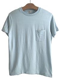 FilMelange(フィルメランジェ) ポケットTシャツ SUNNYサニー  メンズTシャツ  -SPEAR MINT-