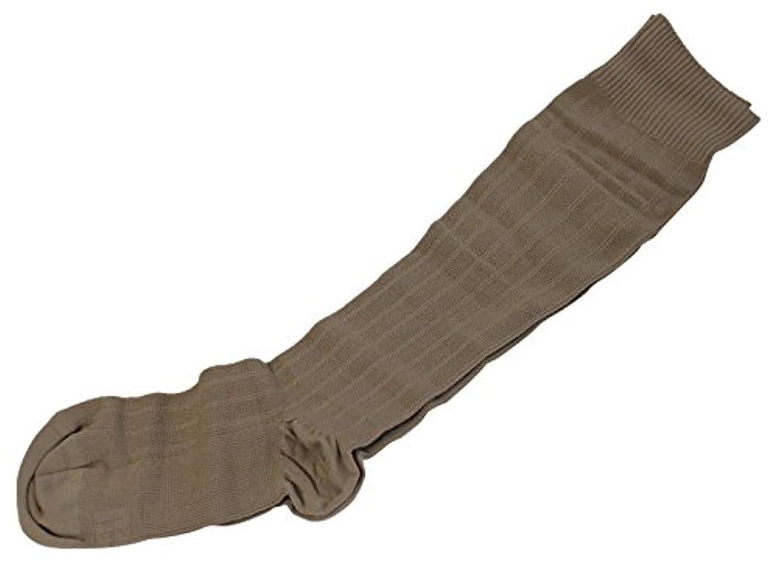 季節どこでもバドミントンギロファ?メッシュソックス ベージュ Sサイズ(22.0~23.5cm)