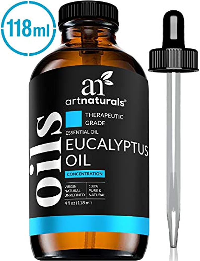 職人貢献オーナーArtNaturals 100% Pure Eucalyptus Essential Oil - (4.0 Fl Oz / 120ml) - Therapeutic Grade Natural Oils - Includes...