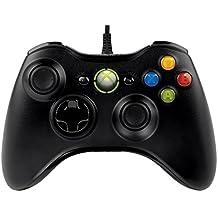 マイクロソフト ゲームコントローラー 有線/Xbox360/Windows対応 黒 Xbox360 Controller for Windows 52A-00003 [並行輸入品]