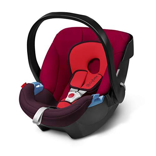 Cybex ISOFIX・シートベルト固定両対応 ベビーシート 新生児用 トラベルシステム エイトン ルンバレッド 0か月~ (3年保証)