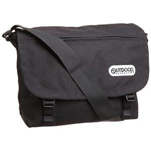 [アウトドアプロダクツ] OUTDOOR PRODUCTS フラップショルダー 6203110 BK (ブラック)