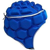 Flameer サッカー ボクシング ヘルメット ヘッドギア テコンドートレーニング用 全3色