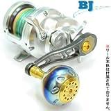LIVRE(リブレ) リール BJ 66-74 シマノ&ダイワ右巻キ (チタンP+ゴールドG)
