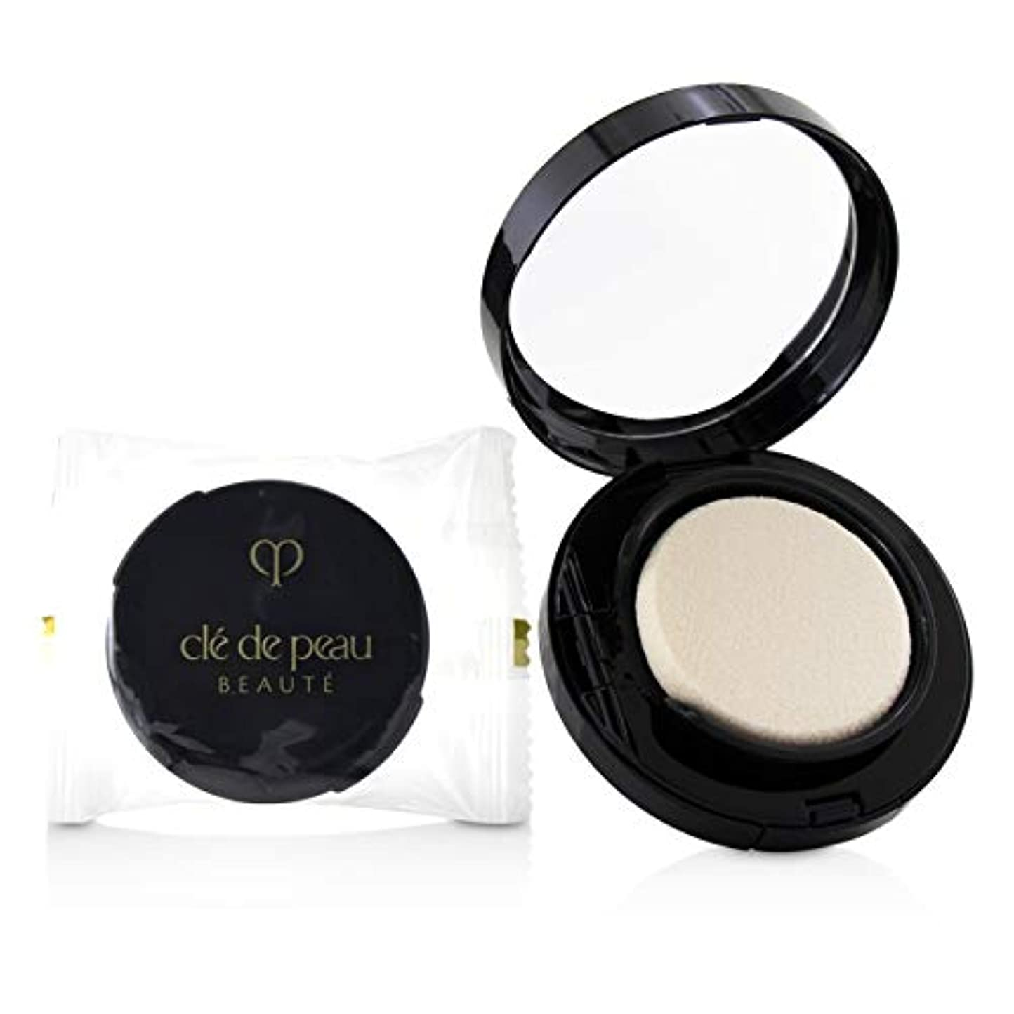 ホール同化する昇るクレ?ド?ポー Radiant Cream To Powder Foundation SPF 25 - # O20 (Light Ochre) 12g/0.42oz並行輸入品