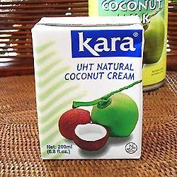 【業務用・まとめ買い】Kara ココナッツクリーム 200ml×10本セット