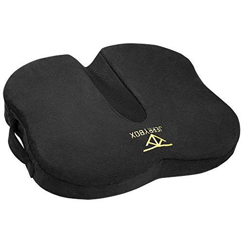 Jerrybox ヘルスケア座布団 健康クッション 骨盤クッション 人間工学設計 お尻にフィット 腰痛クッション
