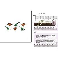 ドールハウスミニチュアmicro-mini恐竜12pc