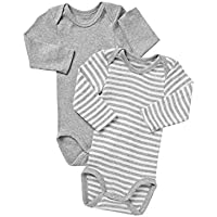 Bonds Baby Long Sleeve Bodysuit (2 Pack)