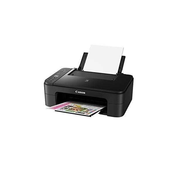 Canon Multi Function Home Printer PIXMA, Black (TS3160) 4