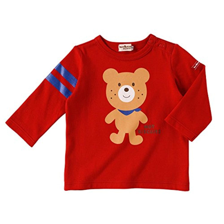 ミキハウス ホットビスケッツ(MIKIHOUSE HOT BISCUITS) Tシャツ 73-5209-783 100cm 赤