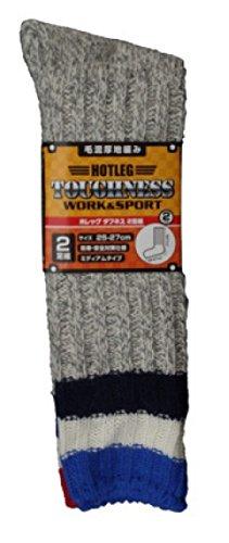 [해외](야외 스키 등산 부츠 안전 신발 방한) 머리 混厚 지역 뜨개질 양말 2 켤레 세트 (색상 지정 불가)/(Outdoor ski mountaineering boots safety shoes cold) hair thick knitted socks 2 pairs (color not specified)