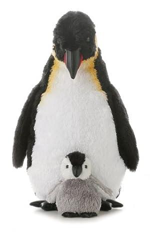 Aurora World オーロラワールド 皇帝ペンギンの親子ぬいぐるみ 約30cm 並行輸入品