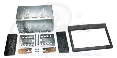 Connects2 CT23PO02 Porsche 911 (TYP 996), 986 Boxster Double Din Stereo Fascia Fitting Panel Kit [並行輸入品]