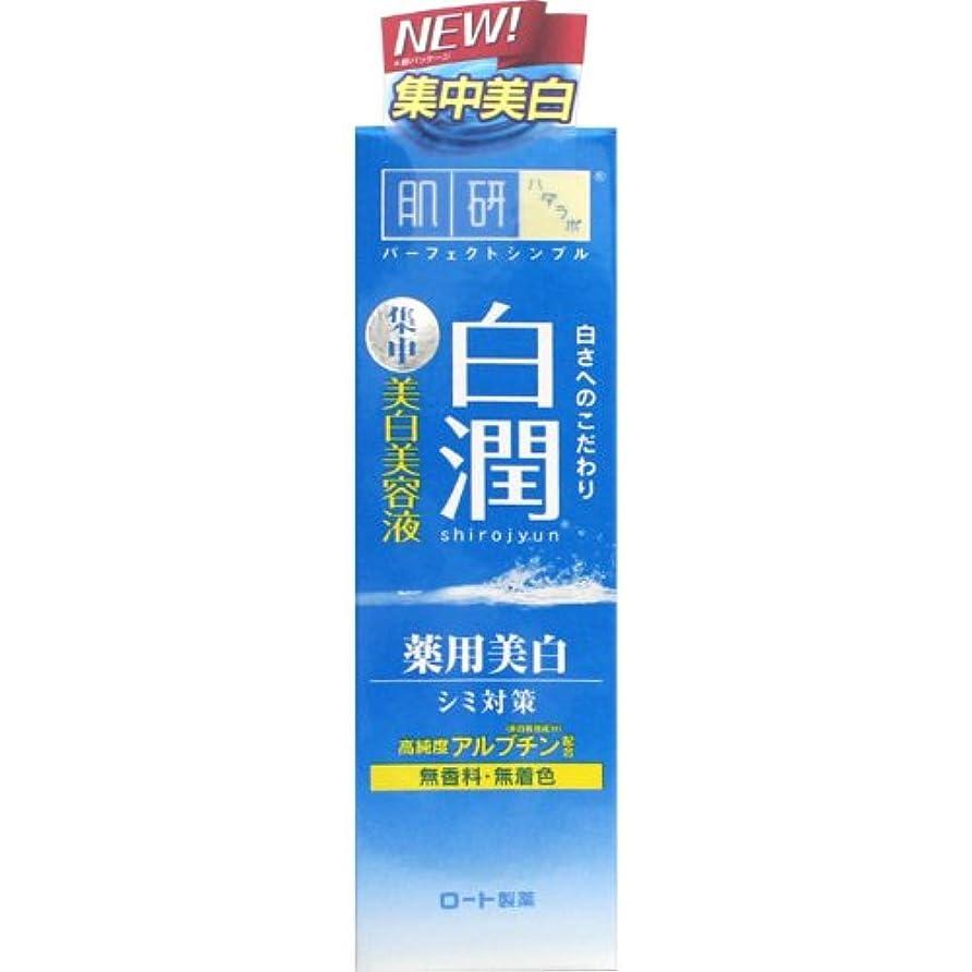 測る反発克服する【医薬部外品】肌研(ハダラボ) 白潤 薬用美白美容液 30g