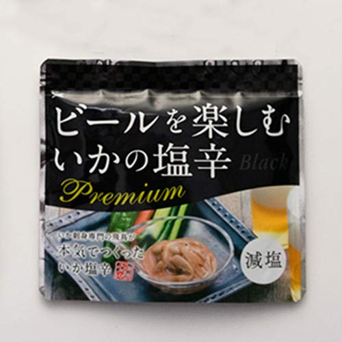プレミアムいか塩辛 ビールに合うブラック4個セット(ブラック×4) 株式会社 飛鳥フーズ