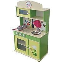 グリーン木製Play Toyキッチン