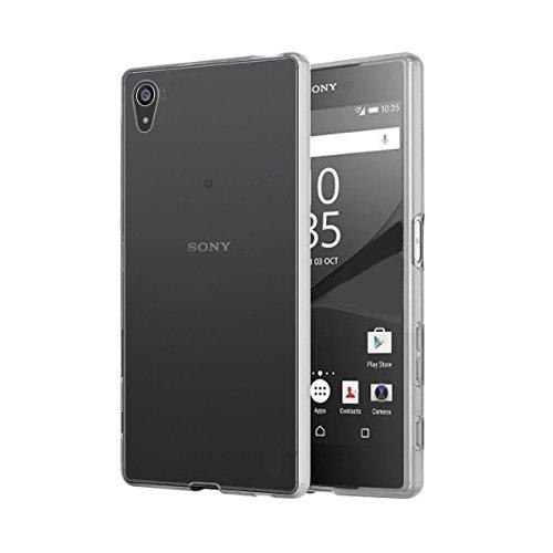 Sony Xperia Z5 Premium ケース 透明 カバー 360°全面保護 耐摩擦 耐汚れ 防塵 衝撃吸収 落下防止 防指紋 本体の色も生かせる 男女問わず TPU +PC 型崩れせず 黄ばみを防ぐ スーパークリア