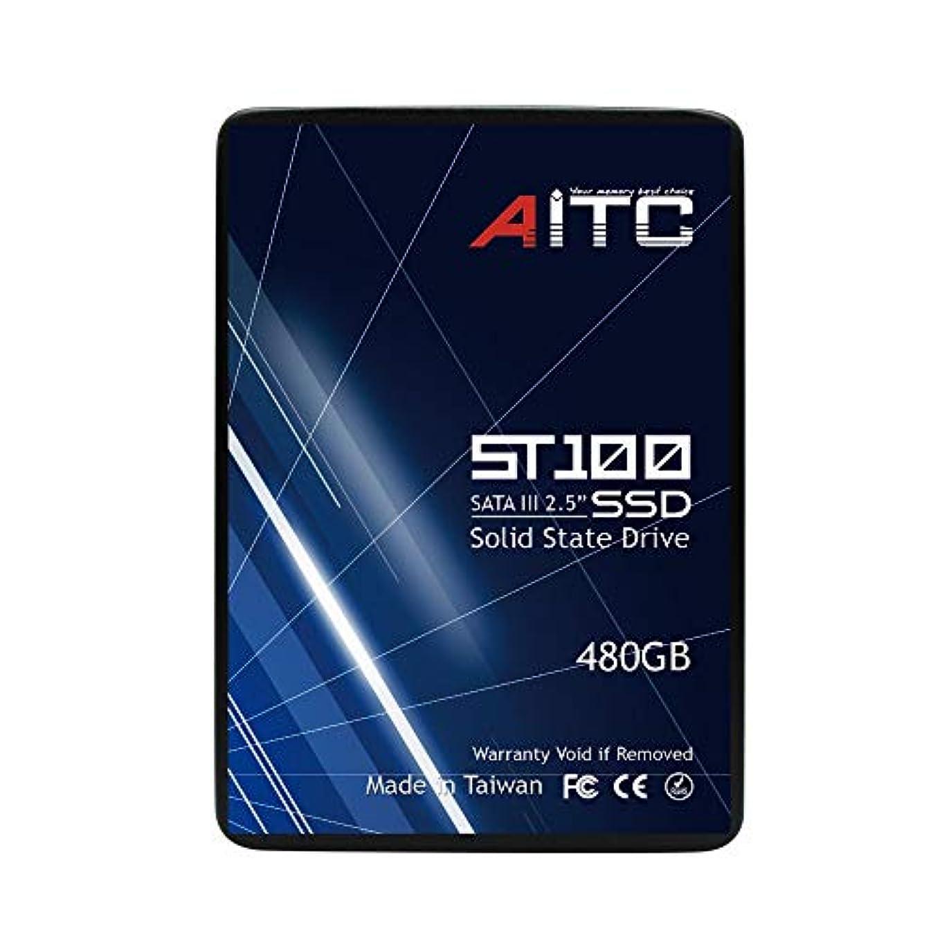 仮定、想定。推測ラリー振る舞いAITC ST100 480GB 7mm/2.5インチ SATA III 内蔵SSD