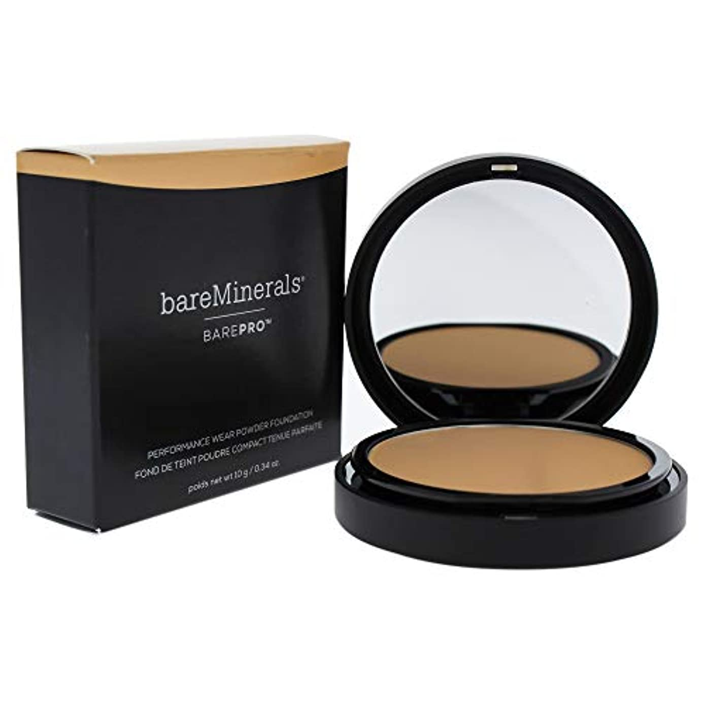 種類調整する強要ベアミネラル BarePro Performance Wear Powder Foundation - # 13 Golden Nude 10g/0.34oz並行輸入品