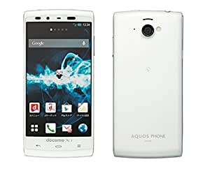 docomo AQUOS PHONE si SH-07E ホワイト 白ロム