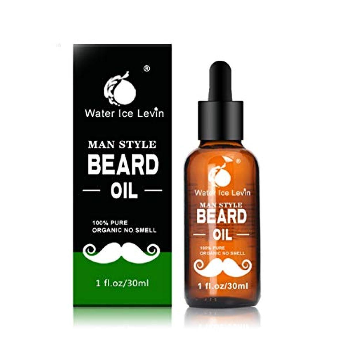 曲線ランク普遍的なIntercorey Men Moustache Cream Beard Oil Kit Beard Wax Balm Hair Loss Products Leave-In Conditioner for Groomed...