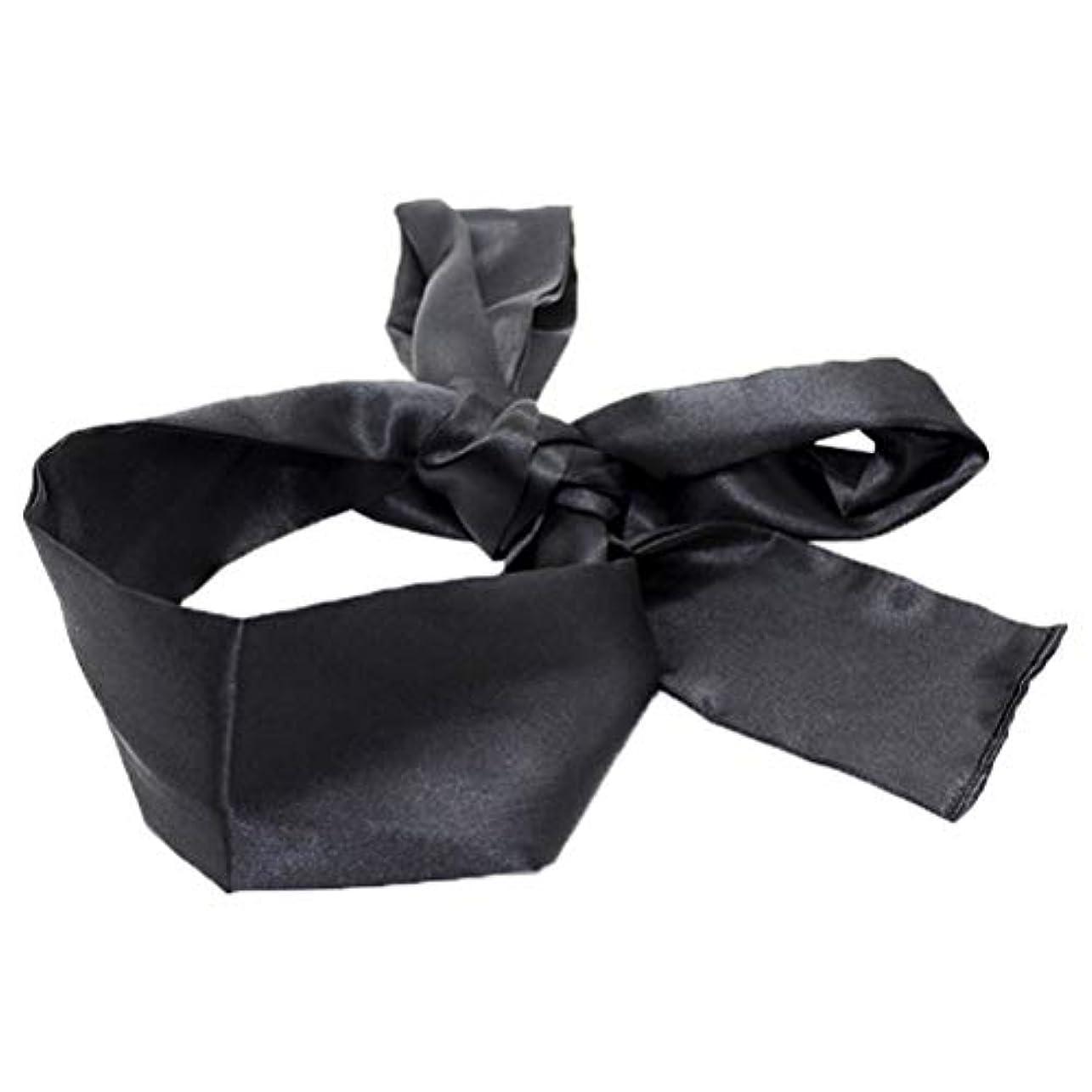 アラビア語回路大聖堂HEALIFTY 睡眠マスクホームトラベルコスチューム小道具(ブラック)用サテン目隠しソフト快適なアイマスクバンドブラインダー