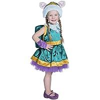 Princess Paradise Paw Patrol Everest Costume, Teal/Purple/Gold, 12/18m