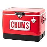 チャムス(CHUMS) スチールクーラーボックス CH62-1283-0000-00 レッド 54L