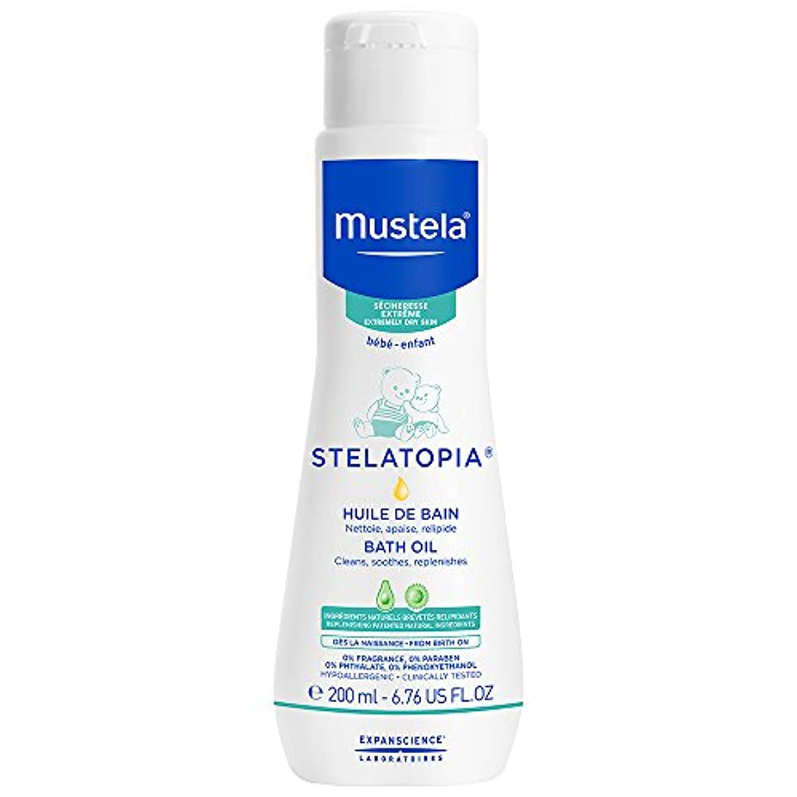 ペグ全く謝るMustela - Stelatopia Bath Oil (6.76 oz.)
