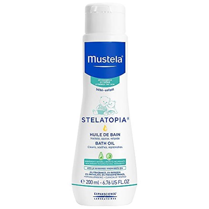 多分スペイン趣味Mustela - Stelatopia Bath Oil (6.76 oz.)