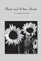 ブラックandホワイトFlorals Everlastingカレンダー