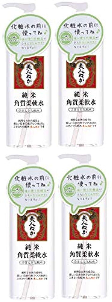 クーポン天才合併症【まとめ買い】純米 角質柔軟水×4個