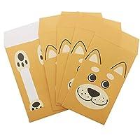 シバイヌ 柴犬[ポチ袋]おとしだま袋 5枚セット オクタニコーポレーション 金封 おもしろ雑貨 グッズ 通販